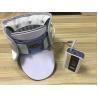China QY03 Cervical Brace Support , White / Blue Cervical Air Traction Neck Brace wholesale
