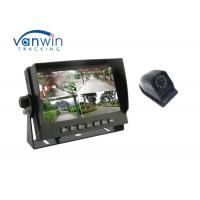 Buy cheap 360 degree 4CH security monitoring DVR system with 7 inch screen from wholesalers