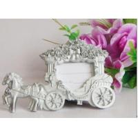 China Resin Carriage Photo Frame  Wedding Favors Home Decoration wholesale