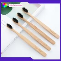 China Adult Age Group Bambooeco Friendly Toothbrush 4 Pack Set For Hotel / Travel on sale