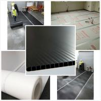 China 50m 100m 2440x1220 2000x1000mm pp corrugated plastic floor protection sheet wholesale