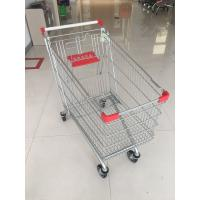 Quality 240L Store Shopping Cart Zinc Plated And Powder Coating For Supermarket for sale