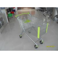 Buy cheap 150 L Supermarket Shopping Carts With Special Plastic Parts And Four Casters from wholesalers