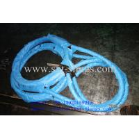 China PRESSED STEEL WIRE ROPE SLING wholesale