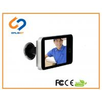 China 4.0 Inch LCD Peephole Viewer  / Smart Electronic Door Viewer Visual AA Battery wholesale