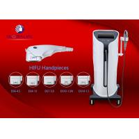 China AC200-220V 3.2Mhz Hifu Machine Equipped 3 Heads For Effective Wrinkle Removal wholesale