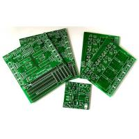 China Green 1 Oz Single Sided PCB Board FR4 Copper Clad Plate For Moter Driver wholesale