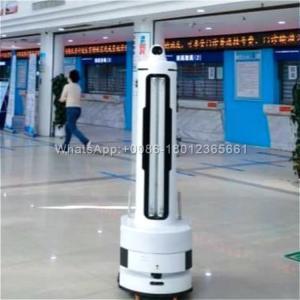 China Intelligent UV Ultraviolet Lamp Disinfect Hospital Robot on sale