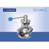 """China Industrial butterfly valves , 4"""" Manul mixing proof stainless butterfly valve wholesale"""