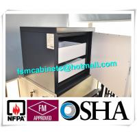 China Metal Fire Resistant File Cabinet For Anti Magnetic , Magnetic Proof Safety Cabinets wholesale