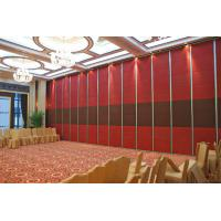 China Easy Installation Wood folding Partition Wall for Function Room Opening Style wholesale