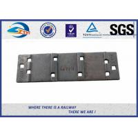 China QT500-7 Steel Rail Base Plate , Metal Tie Plate For UIC DIN Standard Railway wholesale