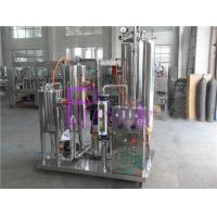 China Industrial Coke Cola Carbonated Drink Mixer Machine With 3000L Three Tanks wholesale