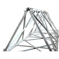 China 60° angle steel tower manufacturer, cold bent angular tower, 60° triangle steel tower wholesale
