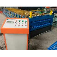 China Chain Driving Double Layer Roll Forming Machine 1200 mm Coil Sheet Feeding wholesale