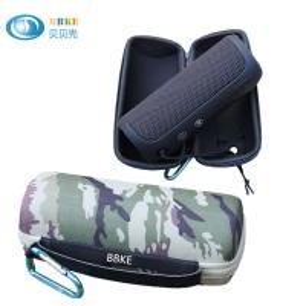 Quality EVA Foam Bluetooth Mini Speaker Case , Camo EVA Travel Case With Zipper for sale