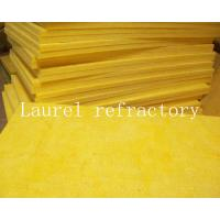 China Glass Wool Board Insulation Refractory 50mm x 1.2M x15M with Aluminium Foil wholesale