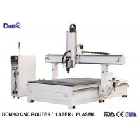 China Styrofoam Model Engraving 4 Axis CNC Router Machine With T-slot Table HSD Spindle wholesale