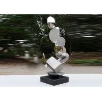 China Modern Stainless Steel Sculpture Highly Polished For Pool Decoration wholesale