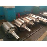 China Smooth Alloy Steel Casting Parts Steel Wheel mill Roller With Quenching And Tempering Heat Treatment wholesale