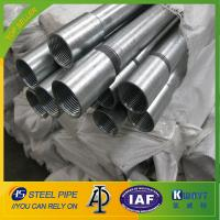 China Hot Dipped Galvanized Steel Pipe With Threads Ends wholesale