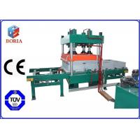 China Four Cavities Pneumatic Vulcanizing Machine Electric Heating For Rubber Tile wholesale