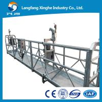 China aluminum  Motion Suspended Gondola Platforms, suspended cradle gondola Swing Stage wholesale