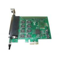 China 8 Port PCI Express x1 rs232 serial adapter card, pci express serial port card with RTS / CTS Flow control wholesale