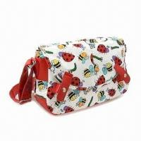 China Printed Canvas Shoulder Bag, Azo Free on sale
