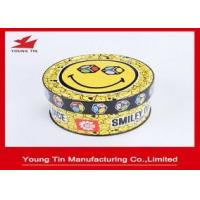 China  Games Children Gifts Packaging Tin Box CMYK Printing Shinny Finish Outside wholesale