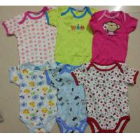 Singapore baby stock cotton cloth for wholesale