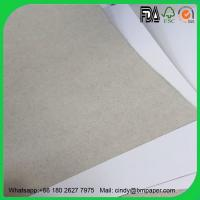 China Wholesale 230gsm 250gsm 300gsm 350gsm 787*1092mm coated duplex board with kraft back wholesale