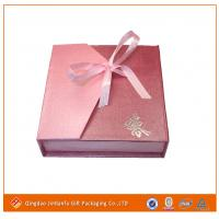 China paper jewelry box for packaging on sale