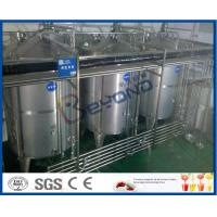 China 8000 - 10000BPH Functional Beverage Soft Drink Production Line With Bag Type Duplex Filter wholesale
