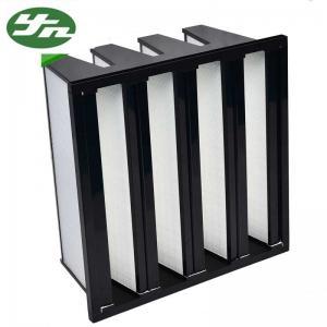 China V Bank H10 Hvac Hepa Filter , Sub-  High Efficiency Air Filter 610*610*295mm on sale