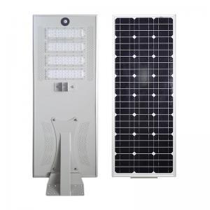 China 20W - 120W PIR Motion Sensor Aluminum LED Housing For All - In - One Solar Street Lights on sale