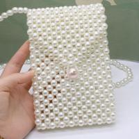 China 2019 new Trending INS fashion wholesale mother of pearl handmade shoulder bag pearl for women beaded pearl bag on sale