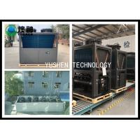 China Galanvized Steel Central Air Source Heat Pump For Hotel , School , Home wholesale