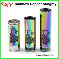 Buy cheap rainbow copper stingray mod 26650 battery mod from wholesalers