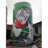 China Inflatable drinks bottles model carton character inflatable advertising carton on sale