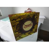 Quality Recycled Custom Printed Paper Gift Bags For Festival Day Food Packaging for sale