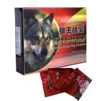 China Herbal Strongest King Wolf Male Enhancement Supplements 3000mg GMP wholesale
