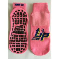 China The Professional Socks For Indoor Trampoline Sports Professional Cotton Trampoline Socks wholesale