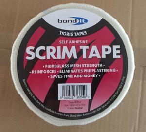China fiberglass self-adhesive mesh tape wholesale