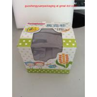 China Paper cardboard Box with Clear Window for Packaging cups wholesale
