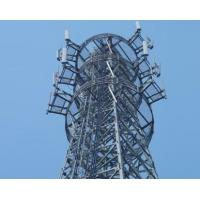 Buy cheap Telecom tower, 81 meters microwave communication tower manufacturer from wholesalers