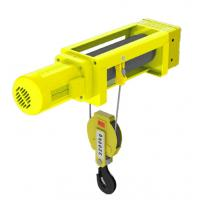 China 1t - 20t Capacity Lightweight Electric Hoist 2/1 4/1 Rope Reeving Leading Crane Foot Mounted wholesale