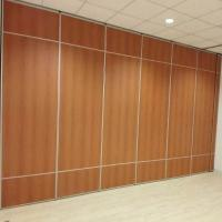 China Soundproof Mobile Wall Partition Movable Acoustic Partition Walls For Hotel Banquet Hall wholesale