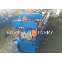 China House Metal Roof Ridge Cap Roll Forming Machine with PLC Control wholesale