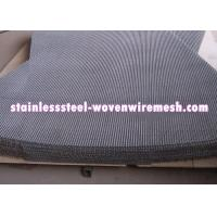 China Plain Crimped Electro Galvanized Mining Screen Mesh Square Aperture For Rust - Prevention on sale